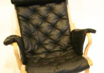 Pernilla69 hyndesæt sort læder