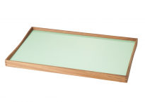 Turning Tray grøn/sort. Vælg størrelse