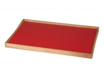 Turning Tray rød/sort.