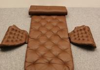 Pernilla69 hyndesæt brunt læder