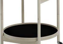 Bøg sort/hvid Ø 60 cm