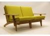 2 Pers. GE370 sofa med armlæn.