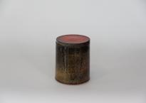 Brugt Kähler vase med låg