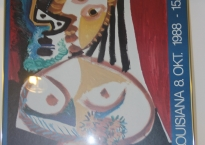 Picasso plakat i ramme.