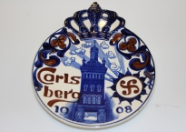 Bryggeriplatte, Carlsberg 1908