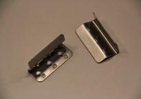 38 mm. Beslag til gummigjord